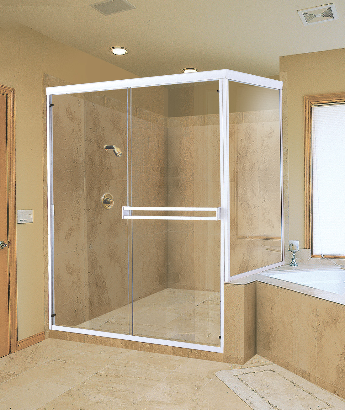 North Star Glass And Windows Shower Doors Gallery